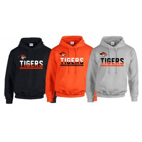 Glasgow Tigers - Split Text Logo Hoodie