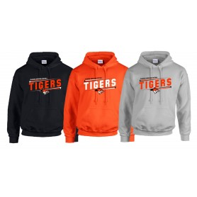 Glasgow Tigers - Slanted Text Logo Hoodie