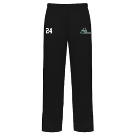South Wales Warriors - Embroidered Open Bottom Joggers