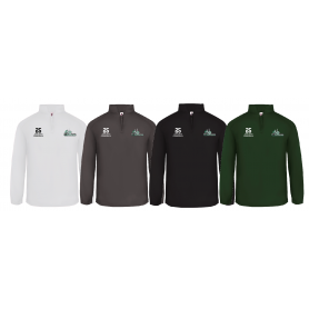 South Wales Warriors - Customised Embroidered 1/4 Zip Poly Fleece Pullover