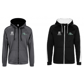 South Wales Warriors - Embroidered Sports Performance Zip Hoodie
