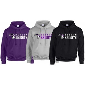 Berlin Knights - Stacked Text Logo Hoodie