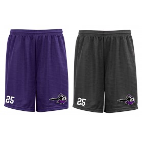 Berlin Knights - Embroidered Mesh Shorts