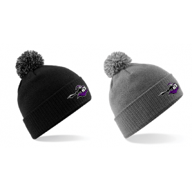 Berlin Knights - Embroidered Bobble Hat