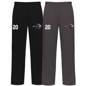 Berlin Knights - Embroidered Badger Open Bottom Joggers