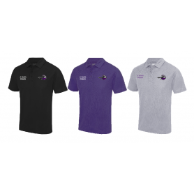 Berlin Knights - Coaches Embroidered Performance Polo Shirt