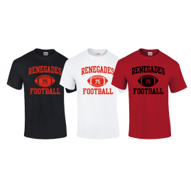 Berkshire Renegades - Custom Ball Logo 1 T Shirt