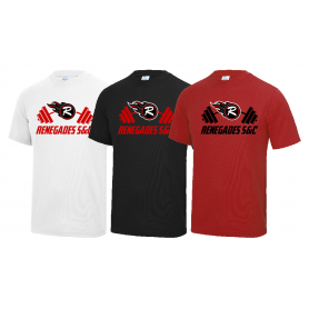 Berkshire Renegades - S And C Performance T Shirt