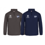 Bristol Football - Embroidered 1/4 Zip Poly Fleece Pullover