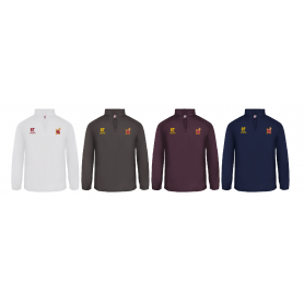 Southampton Stags - Embroidered 1/4 Zip Poly Fleece Pullover