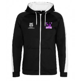 South Wales Harpies - Custom Embroidered Sports Performance Zip Hoodie