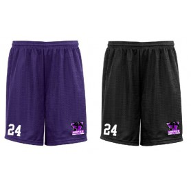 South Wales Harpies - Embroidered Mesh Shorts