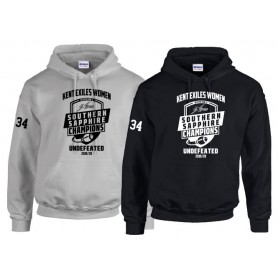 Kent Exiles - DIV2 Sapphire Champs Hoodie