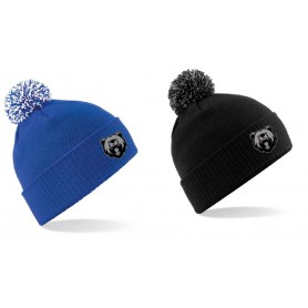 Warwickshire Bears - Embroidered Bobble Hat