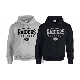 Knottingley Raiders - Custom Ball Logo Hoodie 1