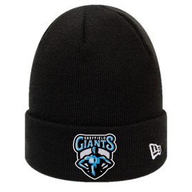 Sheffield Giants - Embroidered New Era Knit Beanie