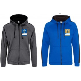Manchester Titans - Printed Sports Performance Zip Hoodie