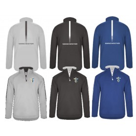 Manchester Titans - Embroidered & printed Sideline Fleece 1/4 Zip Pullover