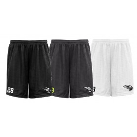 Lancashire Wolverines - Embroidered Mesh Shorts