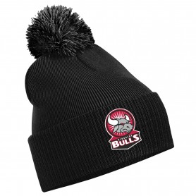 Kirkcaldy Bulls - Embroidered Bobble Hat