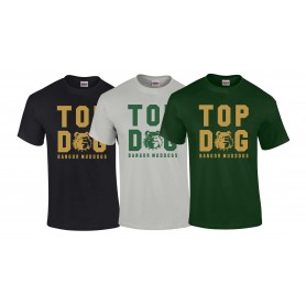 Bangor Mud Dogs - Top Dog Logo T-Shirt