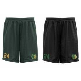 Bangor Mud Dogs - Custom Embroidered Mesh Shorts