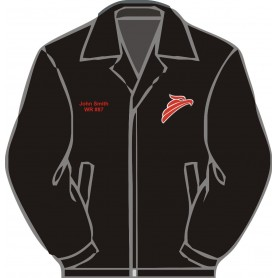 Solent Redhawks - Embroidered Heavyweight Dover Rain Jacket