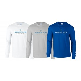 Manchester Titans - Equipment Logo Longsleeve T Shirt