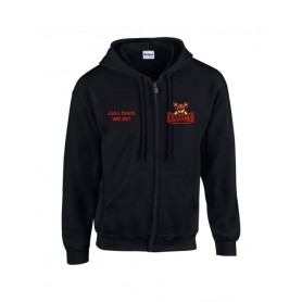 HACL Knights - Custom Embroidered Zip Hoodie