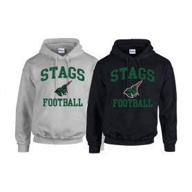 HACL Stags - Football Logo Hoodie