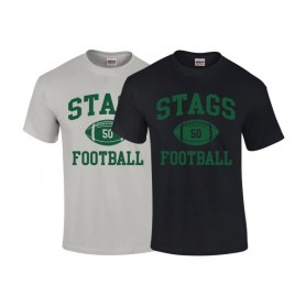HACL Stags - Custom Ball Logo T-Shirt 1