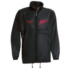 HACL Raptors - Custom Lightweight College Rain Jacket