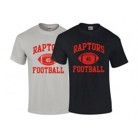 HACL Raptors - Custom Ball Logo T-Shirt 1