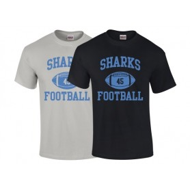 HACL Sharks - Custom Ball Logo T-Shirt 1