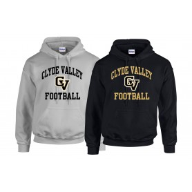Clyde Valley Blackhawks - CV Football Logo Hoodie