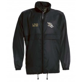 Clyde Valley Blackhawks - Custom Lightweight College Rain Jacket