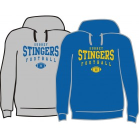 Surrey Stingers - Custom Ball Logo Hoodie 2
