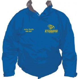 Surrey Stingers - Custom Embroidered Heavyweight Dover Rain Jacket