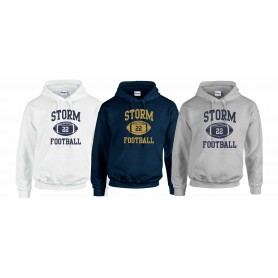 Swindon Storm -  Custom Ball Logo Hoodie 1