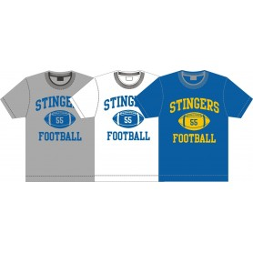 Surrey Stingers - Custom Ball Logo T-Shirt 1