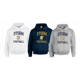 Swindon Storm - Football Logo Hoodie