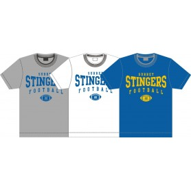 Surrey Stingers - Custom Ball Logo T-Shirt 2