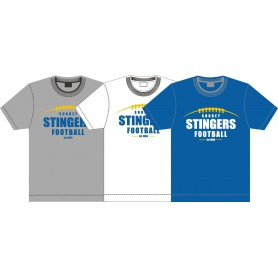 Surrey Stingers - Laces Logo T-Shirt