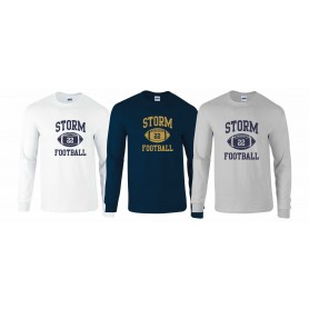 Swindon Storm - Custom Ball Logo 1 Long Sleeve T Shirt