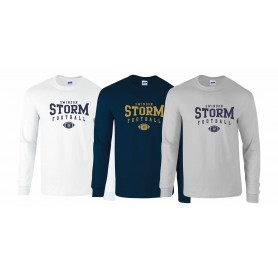 Swindon Storm - Custom Ball Logo 2 Long Sleeve T Shirt