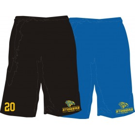 Surrey Stingers - Custom Embroidered Mesh Shorts