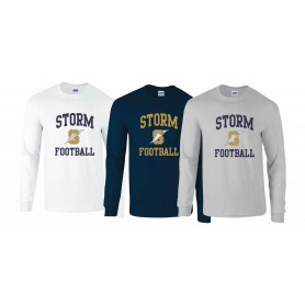 Swindon Storm - Football Logo Long Sleeve T Shirt