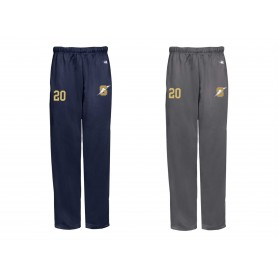 Swindon Storm - Embroidered Badger Open Bottom Joggers
