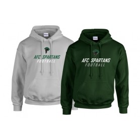 AFC Spartans - Text Logo Hoodie 1