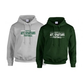 AFC Spartans - Text Logo Hoodie 2